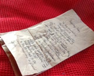 paper bag poem