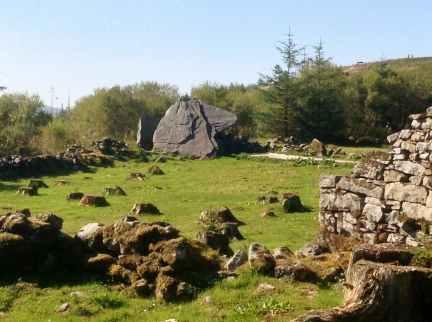 Calfhut Dolmen, Cavan Burren