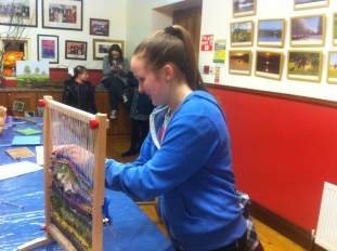 Cavan Youth Arts Lab Weaving
