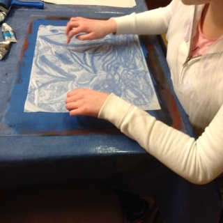 Cavan Youth Arts Lab Touch Drawing