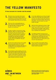 Yellow Manifesto