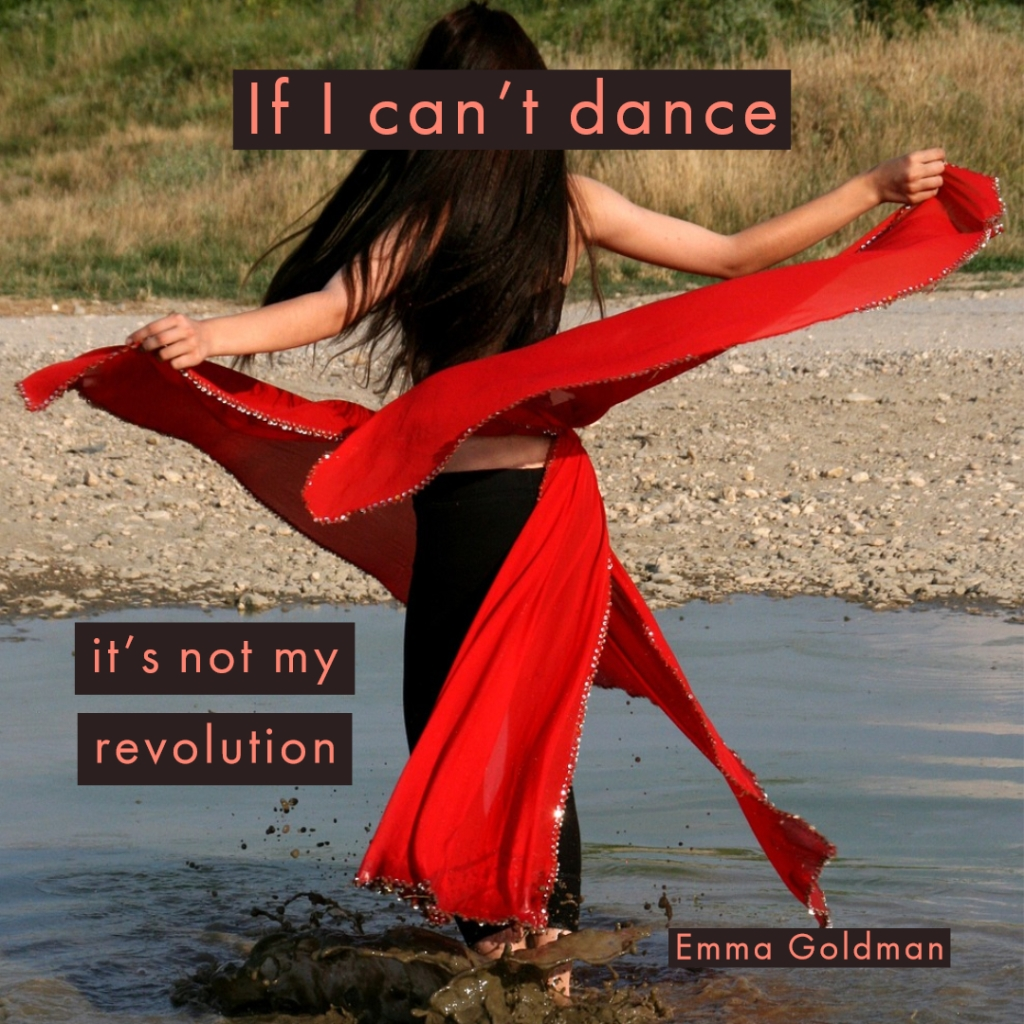 emma goldman dance revolution