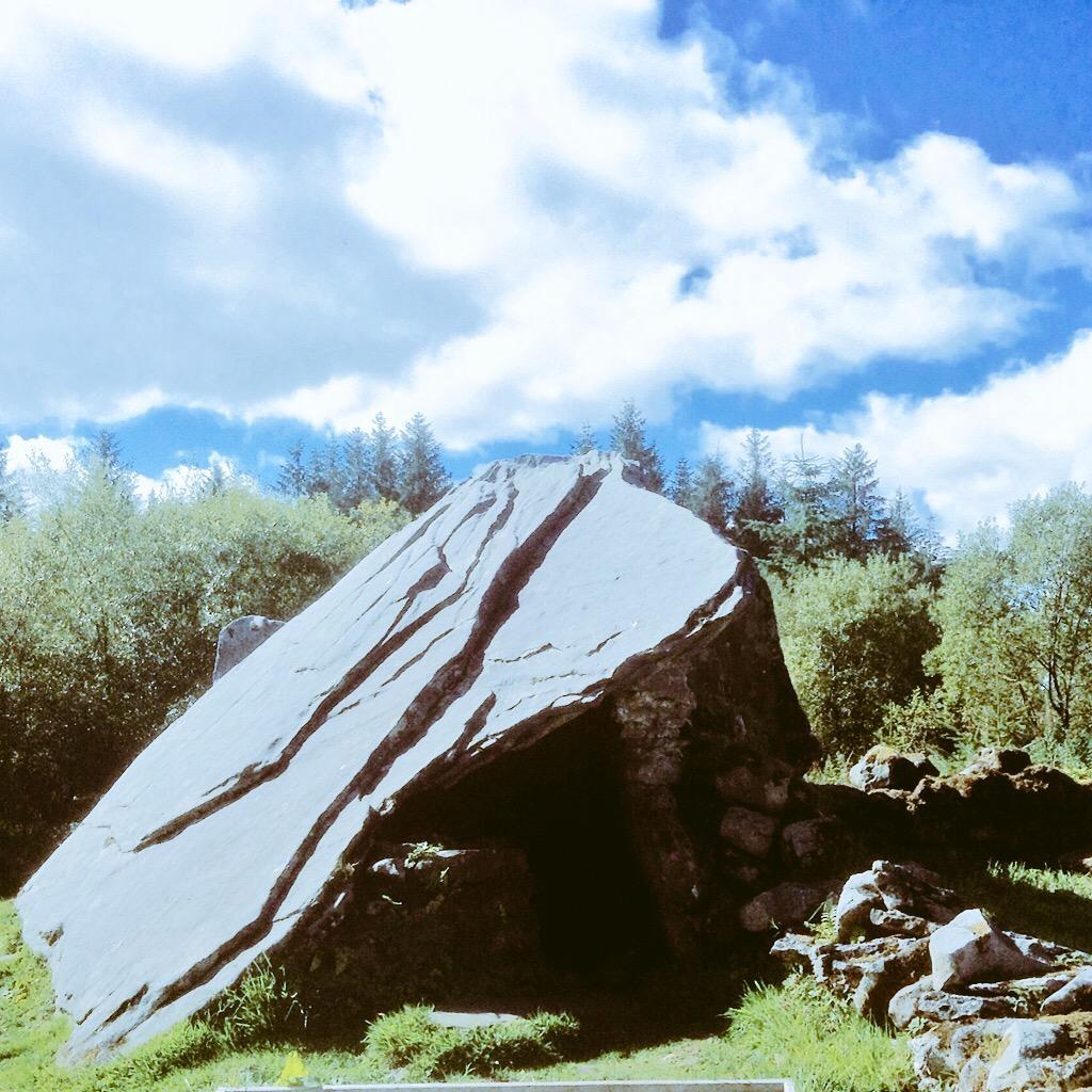 Calf Hut Dolmen Cavan Burren Park