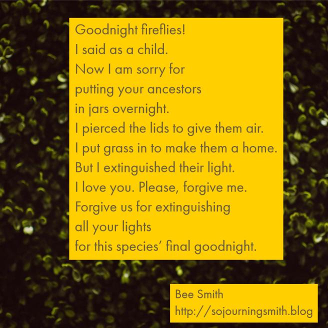 goodnight fireflies