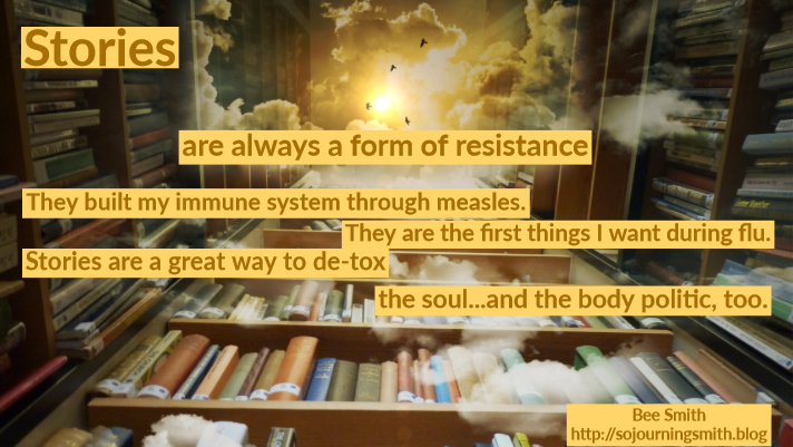 stories, resistance