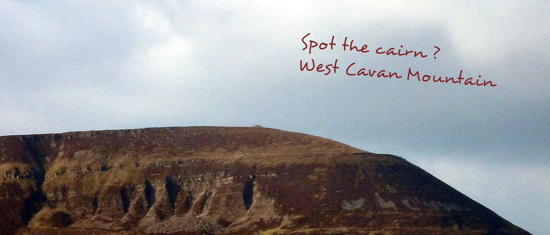 Cuilcagh cairn