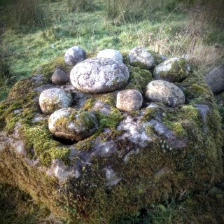 St. Brigid's Cursing and Blessing Stone