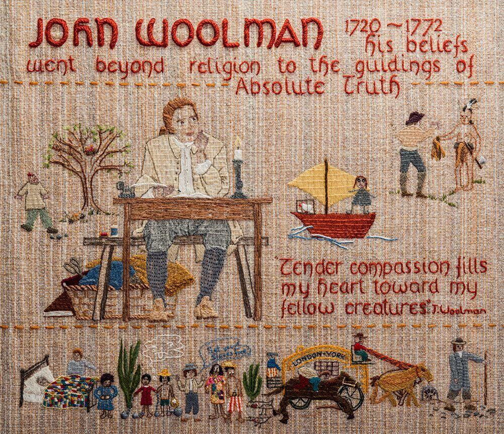 John Woolman Quaker Tapestry