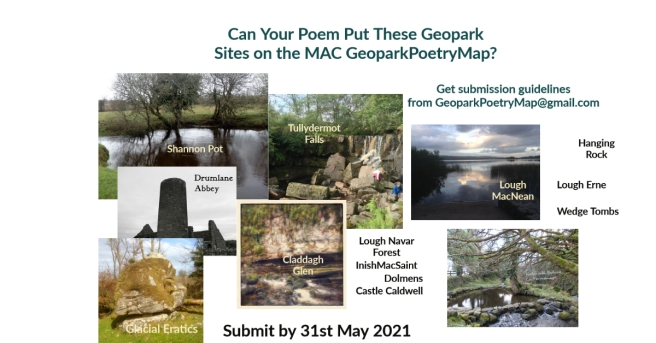 Geopark Poetry Map