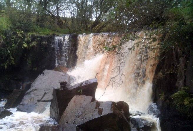 Tullydermot Falls